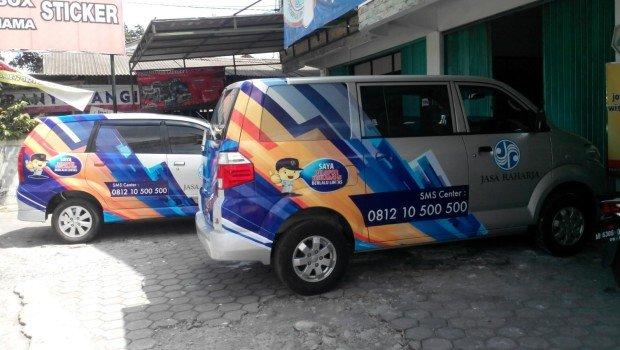 Branding Sticker Mobil