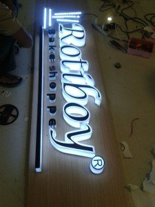 Led Letter Timbul